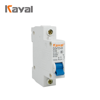 Free Sample 2019 Hot Miniature Circuit Breaker C45 Mcb