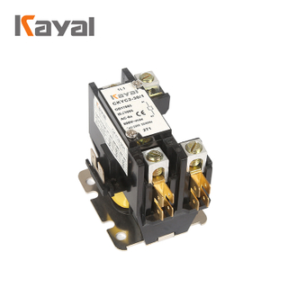 Kayal Manufacturer 2 Pole 40 Amp 120v Ac Definite Purpose Contactor Air Conditioning Magnetic Contactor for HVAC